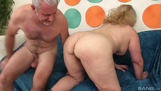 Bungler mature big blonde MILF Astonishing Summer fucked vicar