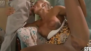 Titillating fucky-fucky cougar Hannah is pleasing hard-core screw sex video