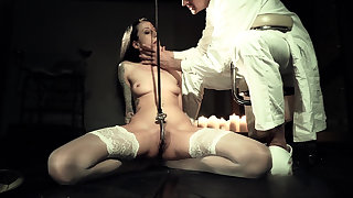 Hooked on painful BDSM wonder