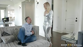 The armchair is the best place for having sex for Bailey Brooke